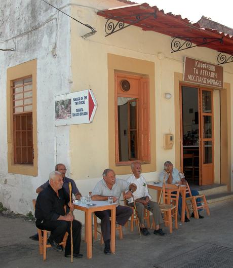 dorpsplein kreta