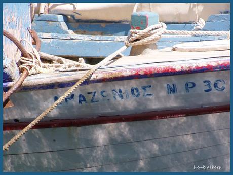 griekse vissersboot