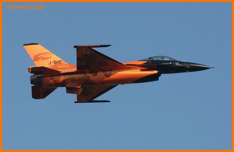Nieuwe demo F-16 Nederland