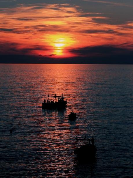 Sunset Riomaggiore 1