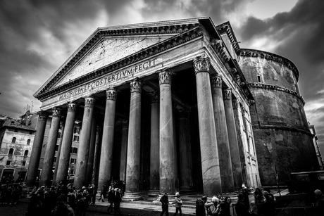 Pantheon Rome B&W