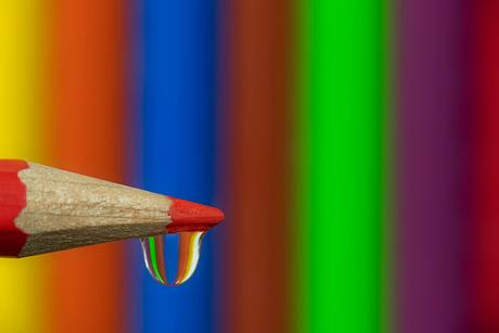 Pencil Waterdrop