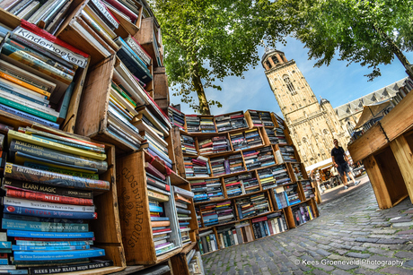 Boeken, Boeken en prachtig weer!