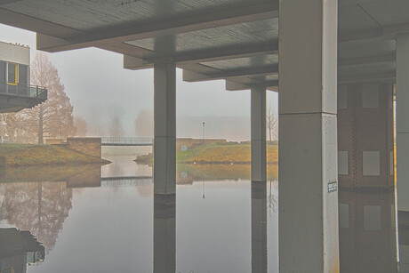 Mist in Hengelo(ov)