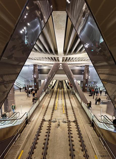 Metro station CS.