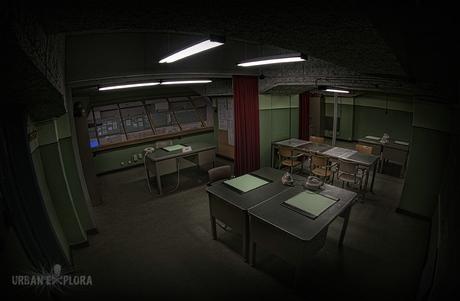 Cold war bunker