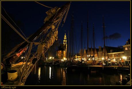 Hoorn by night