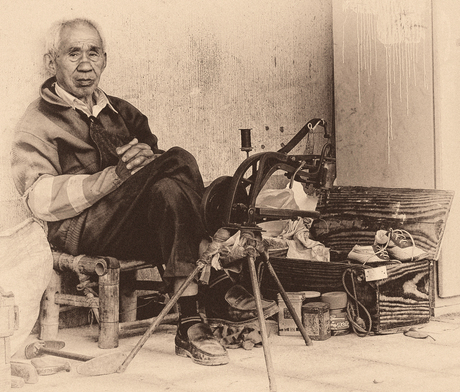 De oude schoenmaker