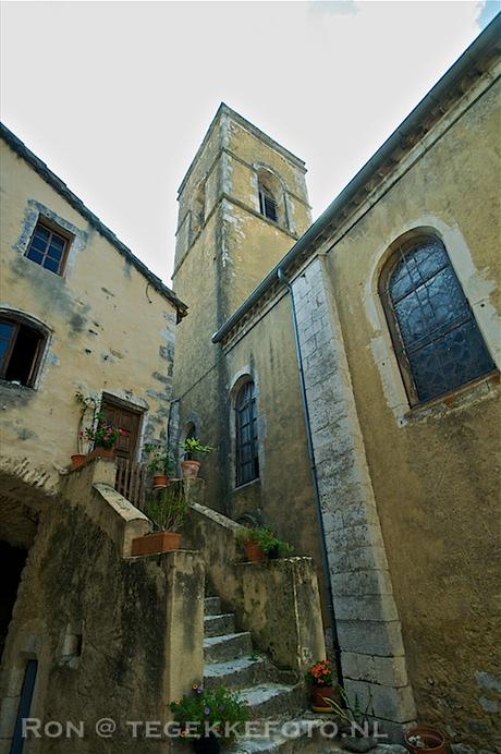 Steegje in Larnas (Fr)