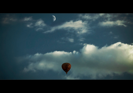 Reach for the Moon, even if you miss you'll land among the Stars