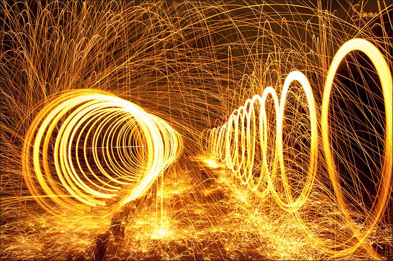 lightpainting - Lightpainting - foto door frostwood op 11-01-2013 - deze foto bevat: lightpainting
