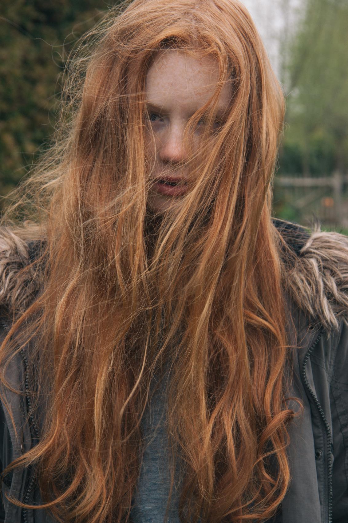 Ginger - - - foto door fienvisser op 31-01-2016 - deze foto bevat: portret, model, haar, ginger