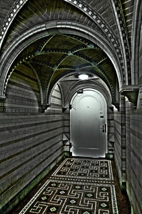 De deur HDR