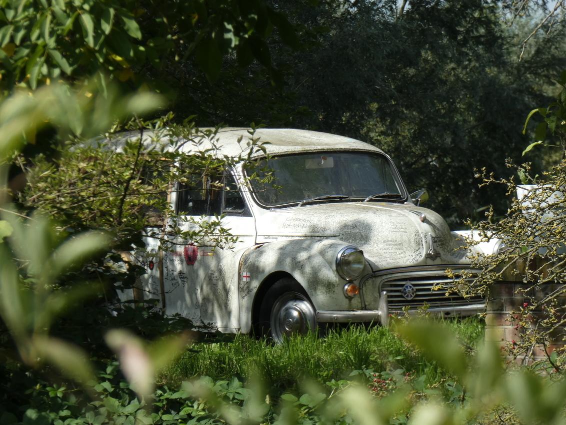 old car - - - foto door getthepicture4you op 12-09-2018 - deze foto bevat: oud, auto, voertuig, verlaten