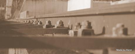 Rails kraanbaan Betoncentrale