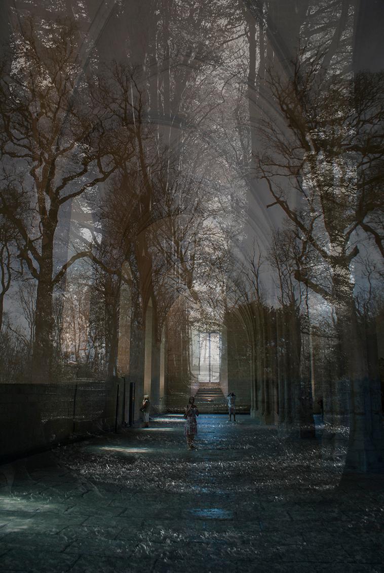 Living in a fantasyworld - Meerdere foto's samengevoegd in Photoshop. - foto door birgitte61 op 23-11-2019 - deze foto bevat: licht, bewerkt, fantasie, bewerking, sfeer, photoshop, creatief