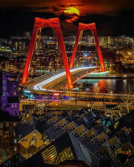 Rotterdam night run!
