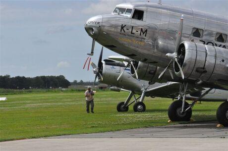 vliegtuig aanduwen
