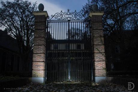 Behind closed gates
