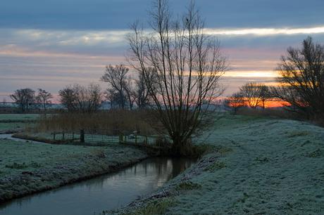 frisse zonsopkomst