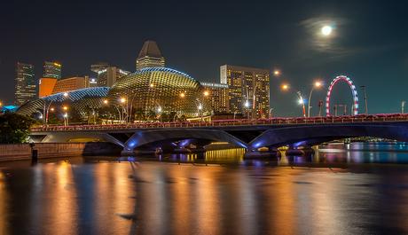 Singapore by night 3