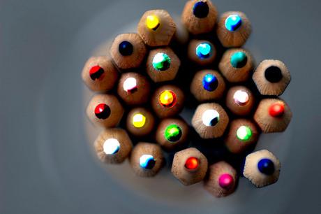 Kleurrijke kleurexplosie!