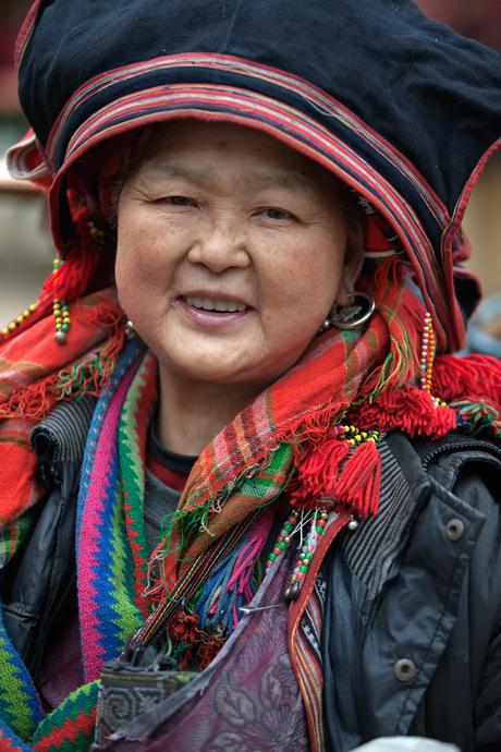 Red Dzao vrouw - Vietnam
