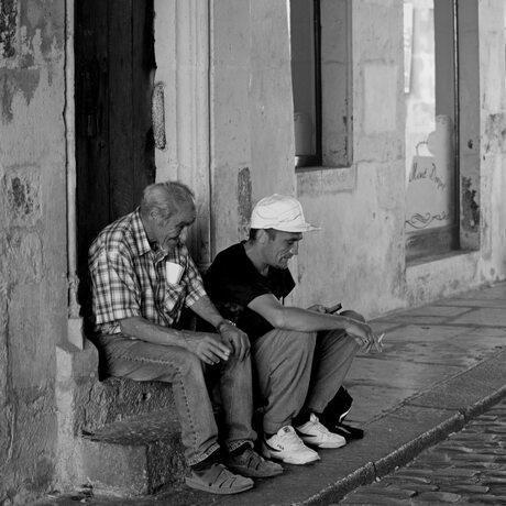 Straatfoto Semur Frankrijk