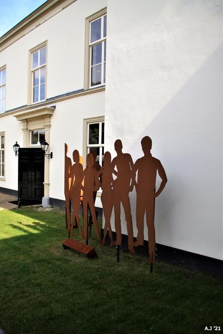 kunst tegen de muur