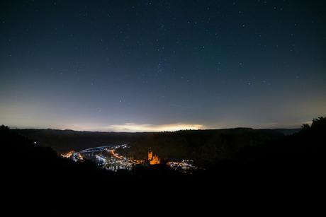 Cochem by night!