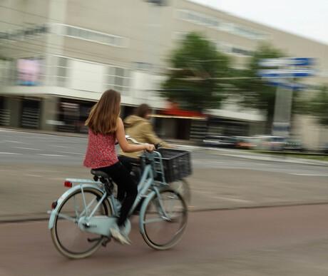 Op de fiets door Rotterdam