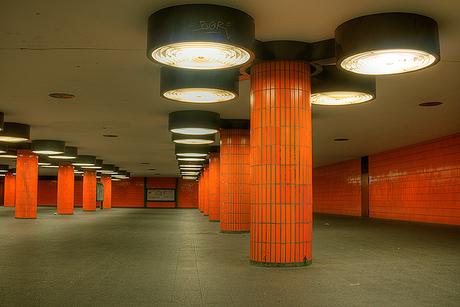 The Metro in Berlin