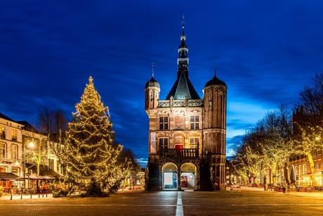 Kerstsfeer op de Brink - Deventer
