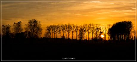Sunset Zedelgem