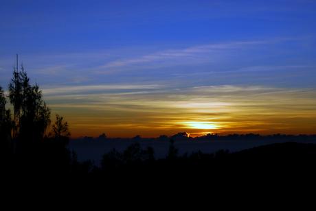 Zonsopkomst op de Bromo Vulkaan