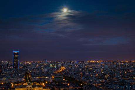 Nachtfoto Parijs