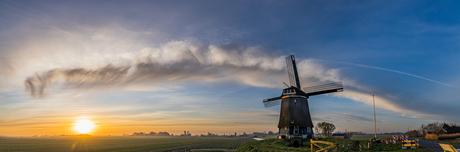 Panorama Berkmeer Zonsopkomst