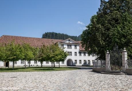 Klooster gedeelte Einsiedeln