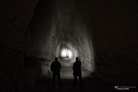Exploring the abandoned stone quarry