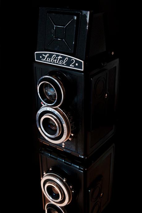 Lubitel 2 Twin Lens vintage camera