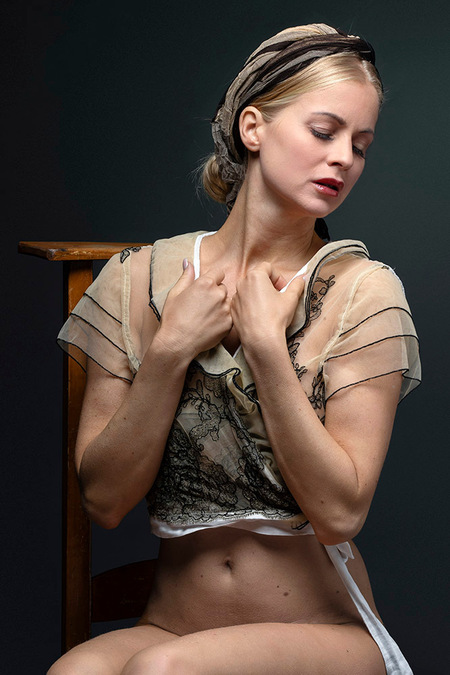 Anna again - Anna Johansson - foto door jhslotboom op 23-02-2021 - deze foto bevat: vrouw, portret, model, erotiek, beauty, blond