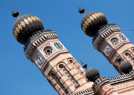 Torens Joodse synagoge Boedapest