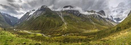Panorama Noorwegen