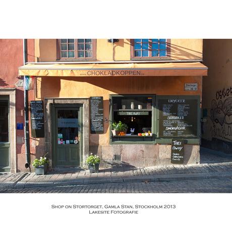 Gamla Stan, de oude stad, Stockholm 2013