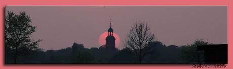 Zonsondergang Buren Gelderland