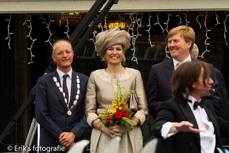 koninklijk bezoek in Hoorn
