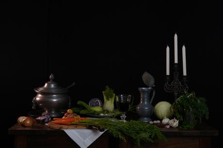 Stilleven - groente
