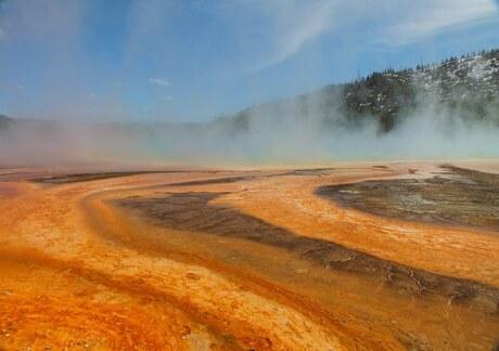 Mooie kleuren in Yellowstone N.P.