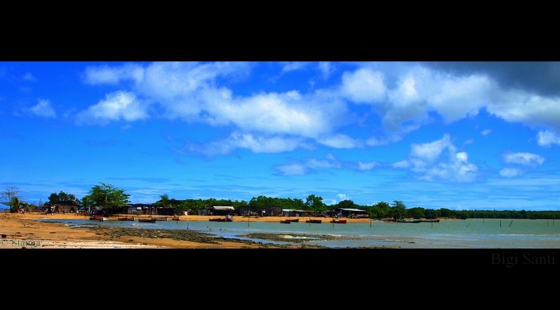 Bigi Santi IV - Bigi Santi: vissersdorp aan de monding vd Surinaamse rivier.    okt 2009    ThanX voor de reacties op mijn vorige upload  Stan - foto door stanga op 05-03-2010 - deze foto bevat: stanga