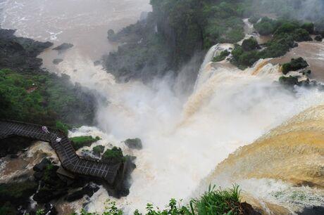 Watervallen Iguazu Brazilie
